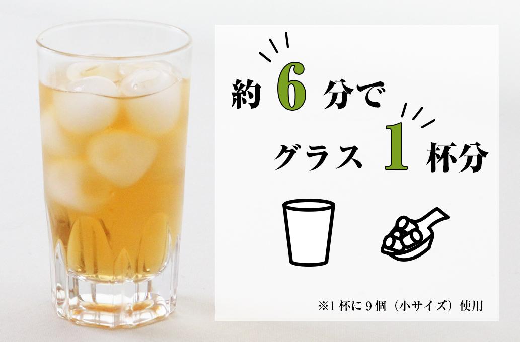 イメージ画像:約6分で1杯